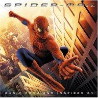 """Обложка саундтрека к фильму """"Человек-паук"""" / Spider-Man (2002)"""