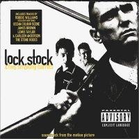 """Обложка саундтрека к фильму """"Карты, деньги и два ствола"""" / Lock, Stock and Two Smoking Barrels (1998)"""