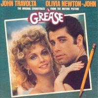 "Обложка саундтрека к фильму ""Бриолин"" / Grease (1978)"