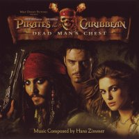 "Обложка саундтрека к фильму ""Пираты Карибского моря 2: Сундук мертвеца"" / Pirates of the Caribbean: Dead Man's Chest (2006)"