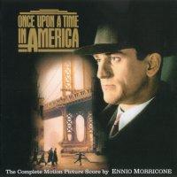 """Обложка саундтрека к фильму """"Однажды в Америке"""" / Once Upon a Time in America (1984)"""