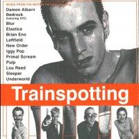 """Обложка саундтрека к фильму """"На игле"""" / Trainspotting (1996)"""