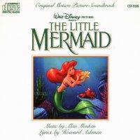 "Обложка саундтрека к мультфильму ""Русалочка"" / The Little Mermaid (1989)"