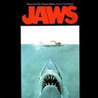 """Обложка саундтрека к фильму """"Челюсти"""" / Jaws (1975)"""