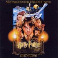 """Обложка саундтрека к фильму """"Гарри Поттер и философский камень"""" / Harry Potter and the Sorcerer's Stone (2001)"""