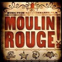 """Обложка саундтрека к фильму """"Мулен Руж"""" / Moulin Rouge! (2001)"""