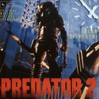 """Обложка саундтрека к фильму """"Хищник 2"""" / Predator 2 (1990)"""