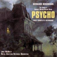 """Обложка саундтрека к фильму """"Психо"""" / Psycho (1960)"""