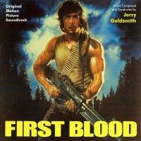 """Обложка саундтрека к фильму """"Рэмбо: Первая кровь"""" / Rambo: First Blood (1982)"""