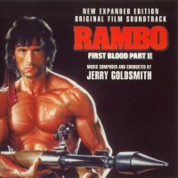 Rambo: First Blood II (1985) soundtrack cover