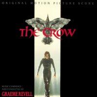 """Обложка саундтрека к фильму """"Ворон"""" / The Crow: Score (1994)"""