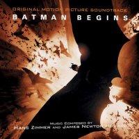 """Обложка саундтрека к фильму """"Бэтмен: Начало"""" / Batman Begins (2005)"""