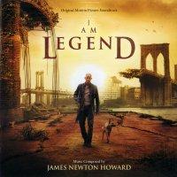 """Обложка саундтрека к фильму """"Я - легенда"""" / I Am Legend (2007)"""
