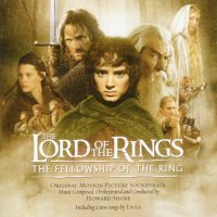 "Обложка саундтрека к фильму ""Властелин колец: Братство кольца"" / The Lord of the Rings: The Fellowship of the Ring (2001)"