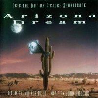 """Обложка саундтрека к фильму """"Аризонская мечта"""" / Arizona Dream (1993)"""