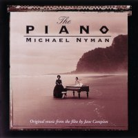 The Piano (1993) soundtrack cover