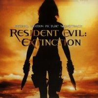 """Обложка саундтрека к фильму """"Обитель зла 3"""" / Resident Evil: Extinction (2007)"""