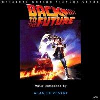 """Обложка саундтрека к фильму """"Назад в будущее"""" / Back to the Future (1985)"""
