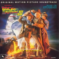 Back to the Future Part III (1990) soundtrack cover