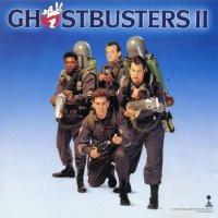 """Обложка саундтрека к фильму """"Охотники за привидениями 2"""" / Ghostbusters II (1989)"""