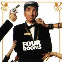"""Обложка саундтрека к фильму """"Четыре комнаты"""" / Four Rooms (1995)"""