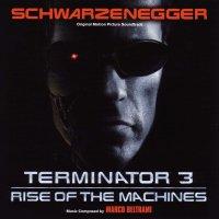 """Обложка саундтрека к фильму """"Терминатор 3: Восстание машин"""" / Terminator 3: Rise of the Machines (2003)"""