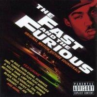 """Обложка саундтрека к фильму """"Форсаж"""" / The Fast and the Furious (2001)"""