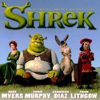 """Обложка саундтрека к мультфильму """"Шрек"""" / Shrek (2001)"""