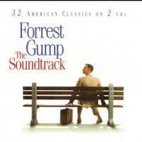 """Обложка саундтрека к фильму """"Форрест Гамп"""" / Forrest Gump (1994)"""