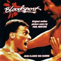 """Обложка саундтрека к фильму """"Кровавый спорт"""" / Bloodsport (1988)"""