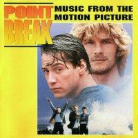 """Обложка саундтрека к фильму """"На гребне волны"""" / Point Break (1991)"""