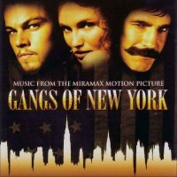 Gangs of New York (2002) soundtrack cover