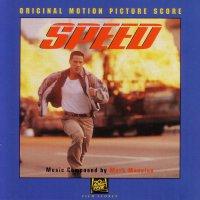"""Обложка саундтрека к фильму """"Скорость"""" / Speed: Score (1994)"""