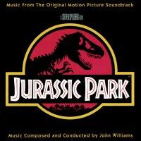 """Обложка саундтрека к фильму """"Парк Юрского периода"""" / Jurassic Park (1993)"""