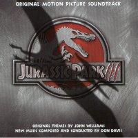 "Обложка саундтрека к фильму ""Парк Юрского периода 3"" / Jurassic Park III (2001)"