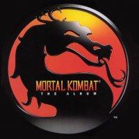 """Обложка саундтрека к фильму """"Смертельная битва"""" / Mortal Kombat (1995)"""