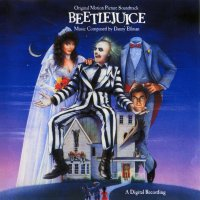 "Обложка саундтрека к фильму ""Битлджус"" / Beetle Juice (1988)"