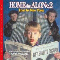 """Обложка саундтрека к фильму """"Один дома 2: Затерянный в Нью-Йорке"""" / Home Alone 2: Lost in New York (1992)"""