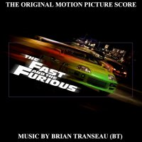 "Обложка саундтрека к фильму ""Форсаж"" / The Fast and the Furious: Score (2001)"