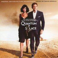 """Обложка саундтрека к фильму """"Квант милосердия"""" / Quantum of Solace (2008)"""