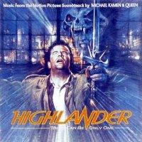 """Обложка саундтрека к фильму """"Горец"""" / Highlander (1986)"""