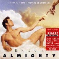 """Обложка саундтрека к фильму """"Брюс Всемогущий"""" / Bruce Almighty (2003)"""