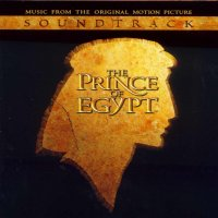 """Обложка саундтрека к мультфильму """"Принц Египта"""" / The Prince of Egypt (1998)"""
