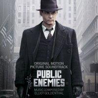 """Обложка саундтрека к фильму """"Джонни Д."""" / Public Enemies (2009)"""