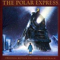 """Обложка саундтрека к мультфильму """"Полярный экспресс"""" / The Polar Express (2004)"""
