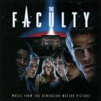"""Обложка саундтрека к фильму """"Факультет"""" / The Faculty (1998)"""