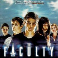 """Обложка саундтрека к фильму """"Факультет"""" / The Faculty: Score (1998)"""