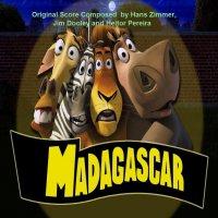 """Обложка саундтрека к мультфильму """"Мадагаскар"""" / Madagascar: Promo Score (2005)"""