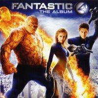 """Обложка саундтрека к фильму """"Фантастическая четверка"""" / Fantastic Four (2005)"""