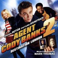 """Обложка саундтрека к фильму """"Агент Коди Бэнкс 2"""" / Agent Cody Banks 2: Destination London (2004)"""